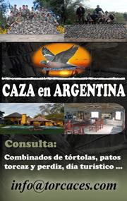 CACERIAS EN ARGENTINA
